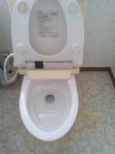 トイレクリーニング After