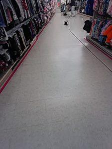 店舗 床洗浄ワックス 定期清掃
