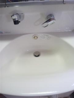 お引越し前後 ハウスクリーニング 広島 洗面所
