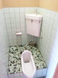 トイレ(和式)クリーニング  広島 ハウスクリーニング