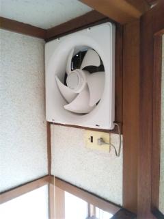 換気扇(プロペラ)レンジフードクリーニング 広島