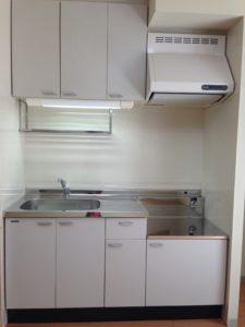 引越し前後 ハウスクリーニング」 広島市 キッチンまわりクリーニング