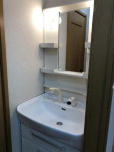 ハウスクリーニング 広島市 洗面台のクリーニング